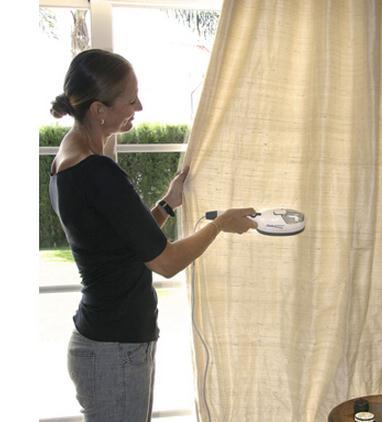 Отпариваем шторы
