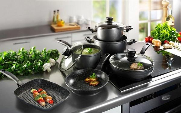 Посуды для стеклокерамической плиты