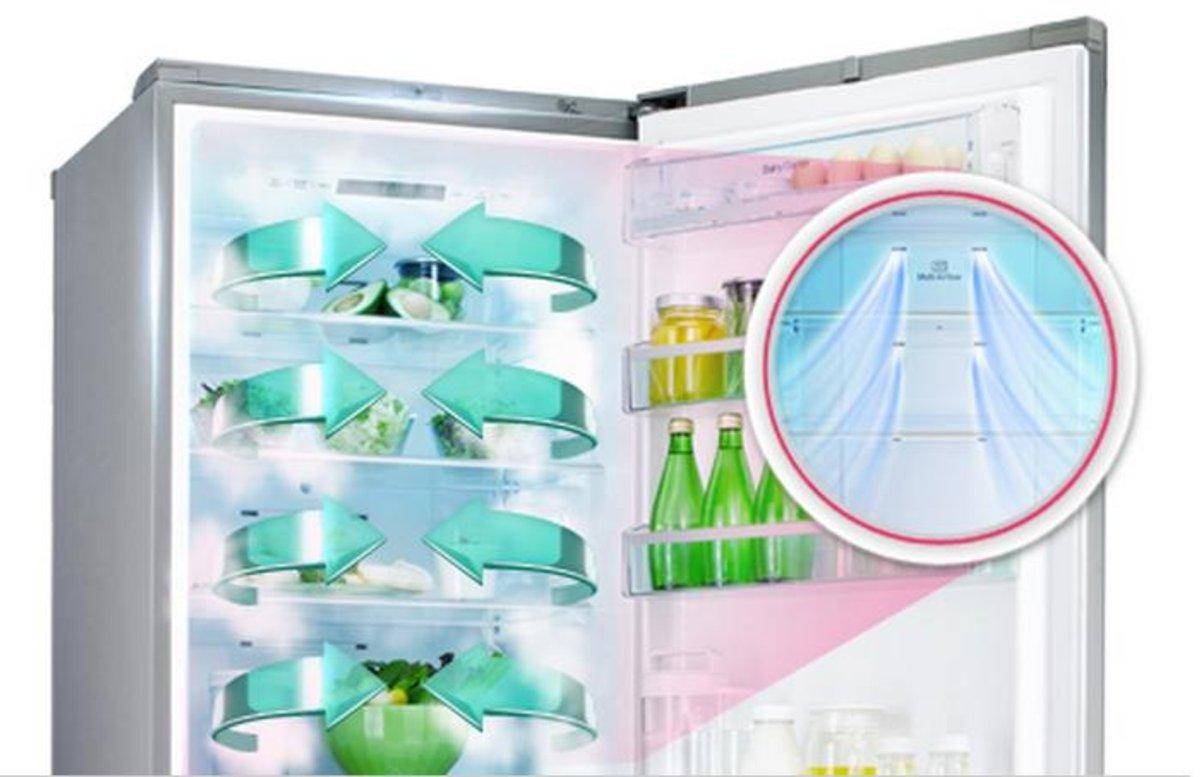 Вентиляторы на дверцах холодильника