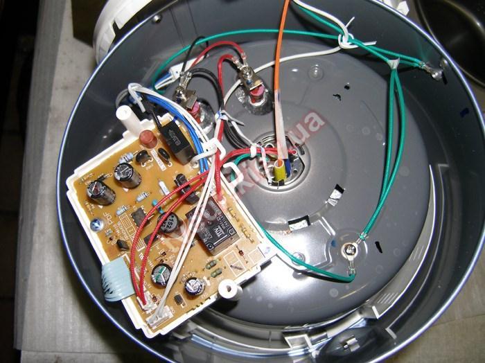 Ремонт мультиварки при загрязнения контактов