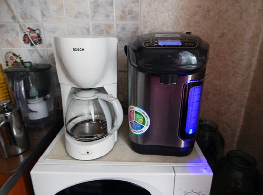 Термопот и кофеварка