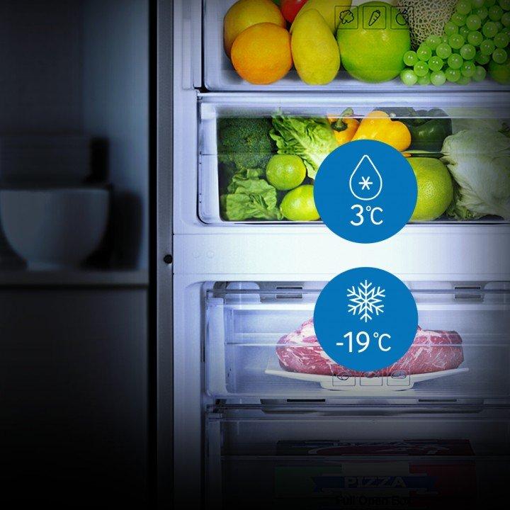 Отсеки холодильника