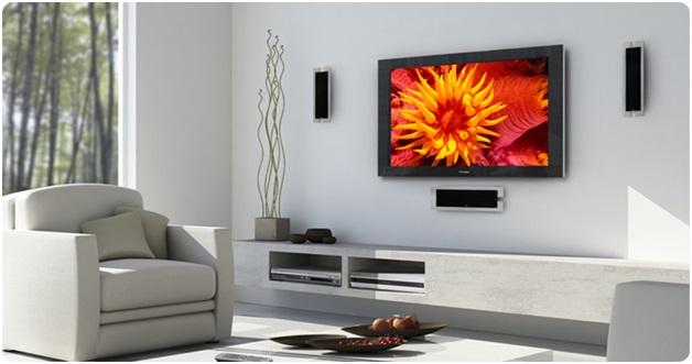 Повесить телевизор на стену из ГКЛ