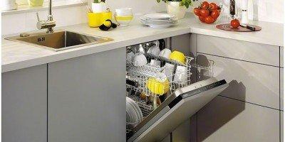Блестящая посудомоечной машиной
