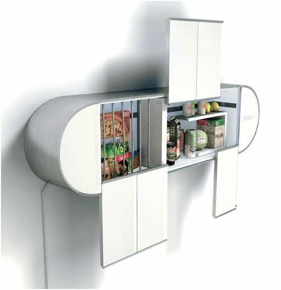 Настенный холодильник