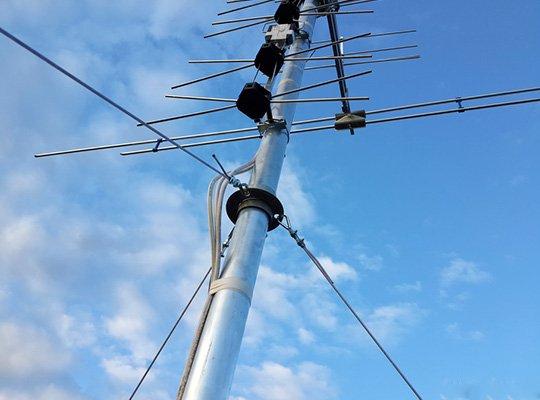 Лучевая антенна