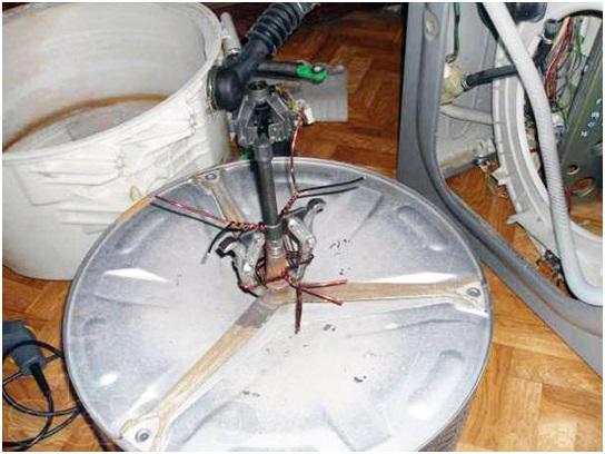Подготовка стиральной машины к ремонту