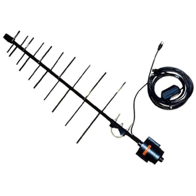 Тв антенны с усилителем уличные на 20 каналов своими руками