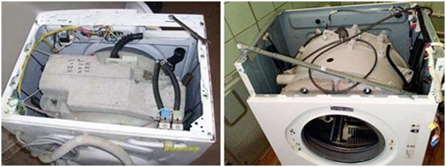 Разбор и подготовка стиралки к ремонту