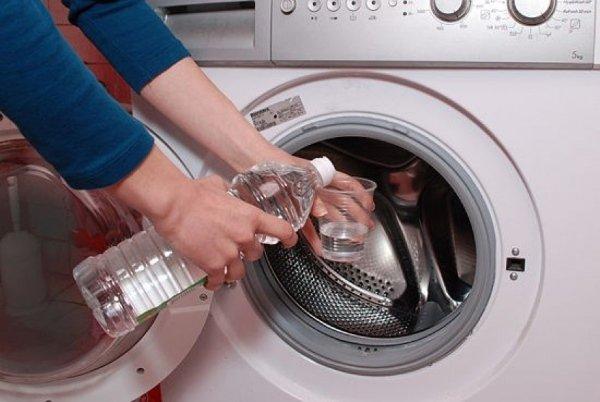Очистка стиральной машины от накипи уксусом