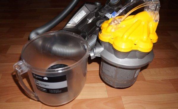 Циклонный фильтр пылесоса