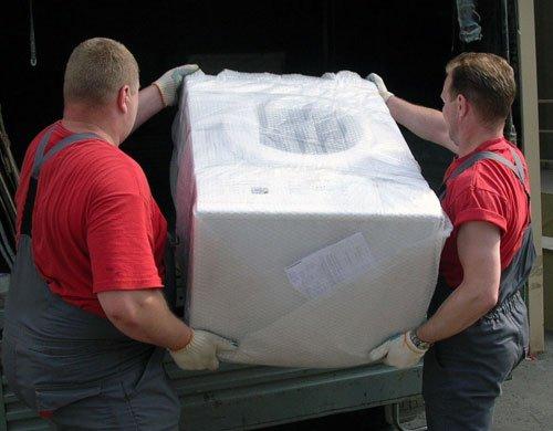 Горизонтальная перевозка стиральной машины
