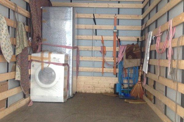 Закрепление стиральной машины в кузове авто