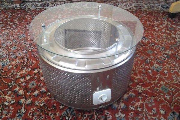 Столик из барабана стиральной машины