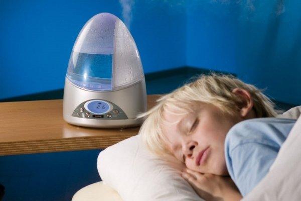 Увлажнитель воздуха и дети