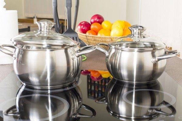 Стальная посуда для индукционной плиты
