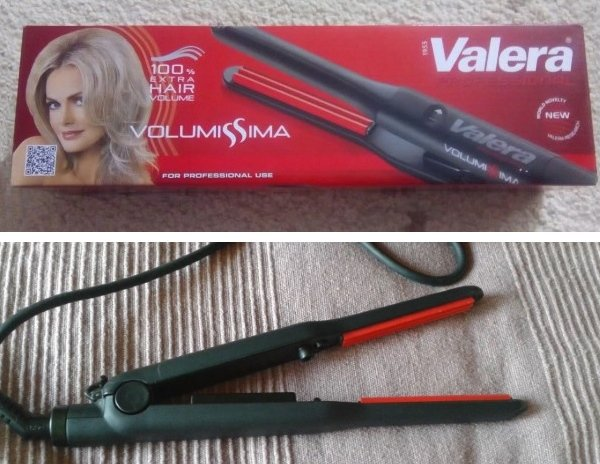 Щипцы для волос Valera Volumissima
