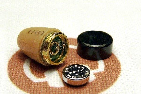 Батарейка микронаушника капсульного
