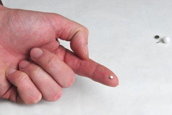 Микронаушник магнитный