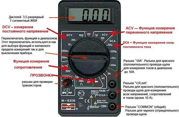 Мультиметр «DT-83*» («М-83*»)
