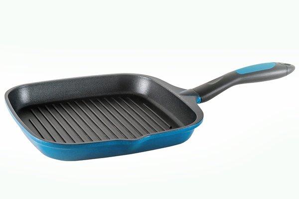 Алюминиевая сковорода-гриль