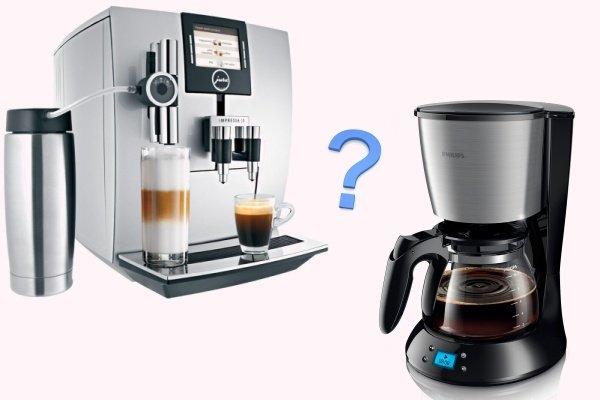 Кофеварка или кофемашина