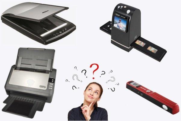 Выбор сканера