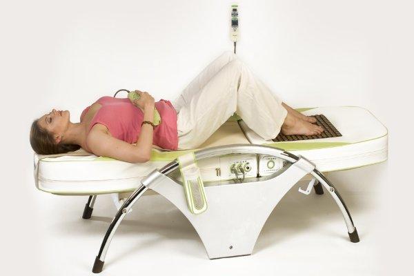 Локальное воздействие массажной кровати