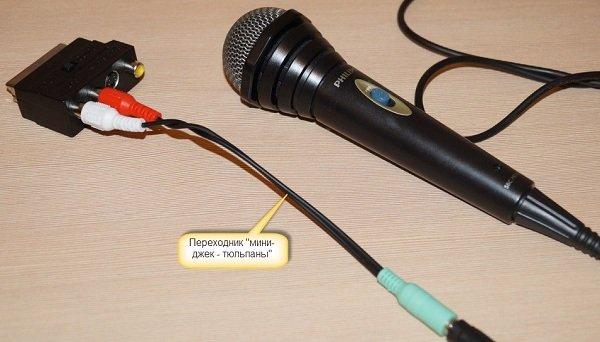 Стандартный переходник для микрофона