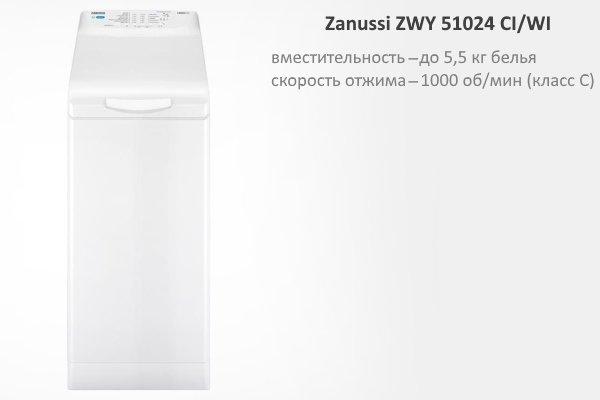 Zanussi ZWY 51024 CI/WI