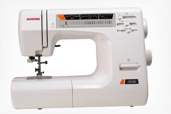 Модель Janome 7524E