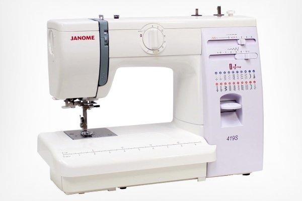 Модель Janome 419S / 5519