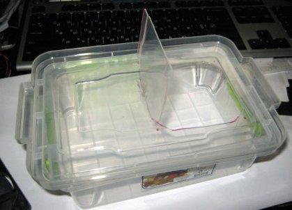 Пластиковый короб