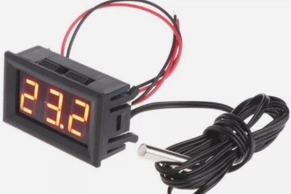 Проводной термометр